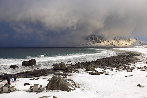 Photograph - Utakleiv Beach, Lofoten 1 by Dubi Roman
