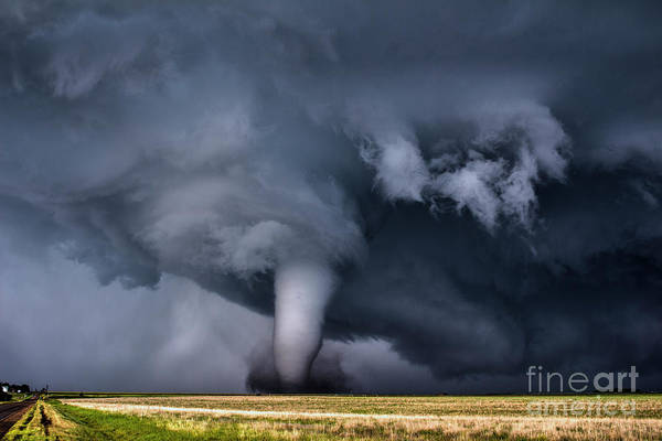 Shelf Cloud Photograph - Photogenic Tornado by Francis Lavigne-Theriault