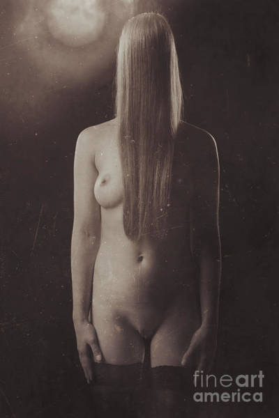 Photograph - Photograph Beautiful Nude #8631b by William Langeveld