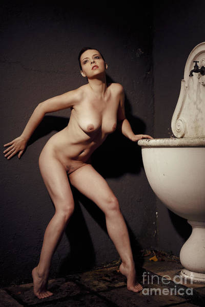 Photograph - Photograph Nude Beauty #1452c by William Langeveld