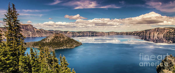 Photograph - Crater Lake by Jim Adams