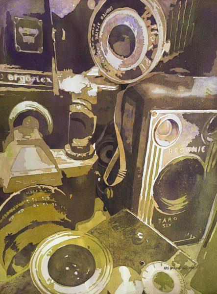 Camera Painting - Photographic Memory by Kris Parins