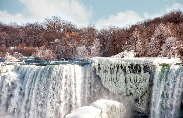 Photograph - Niagara  by Gouzel -