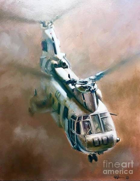Helicopter Painting - Phrog by Stephen Roberson