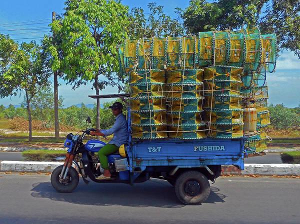 Vung Tau Photograph - Phu My 4 by Ron Kandt