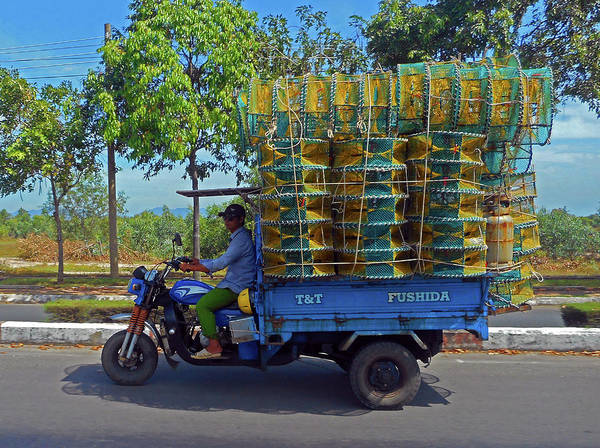 Vung Tau Photograph - Phu My 5 by Ron Kandt