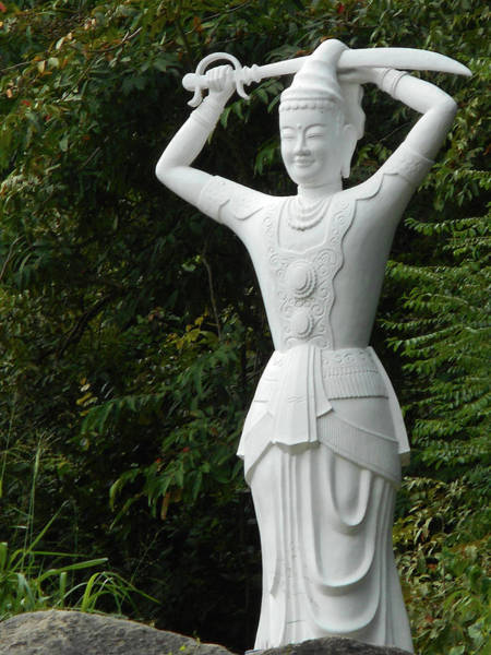 Vung Tau Photograph - Phu My Statues 3 by Ron Kandt