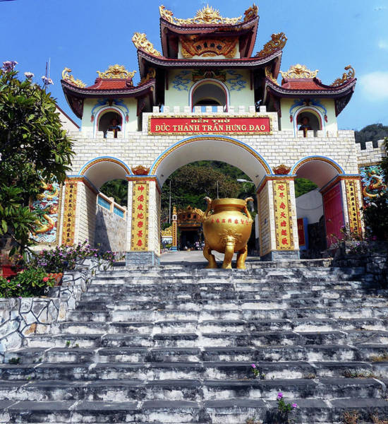 Vung Tau Photograph - Phu My Temples 1 by Ron Kandt