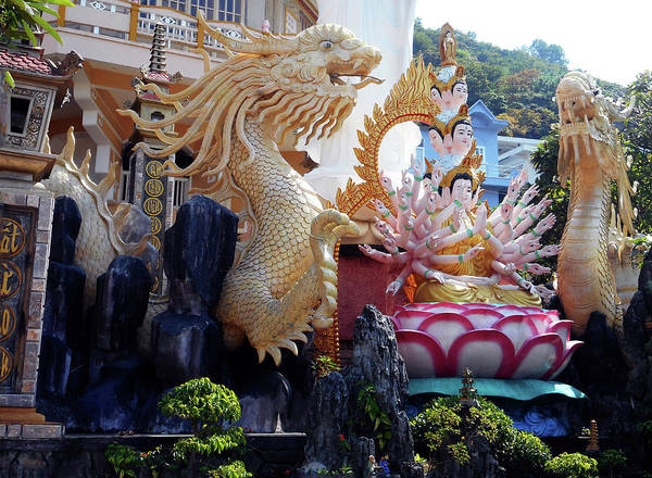 Vung Tau Photograph - Phu My Temples 10 by Ron Kandt