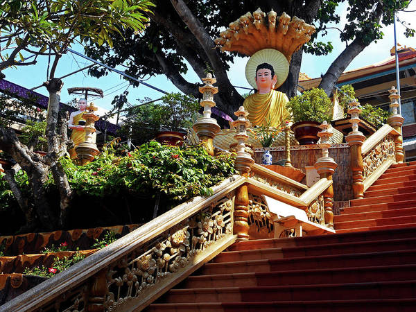 Vung Tau Photograph - Phu My Temples 14 by Ron Kandt