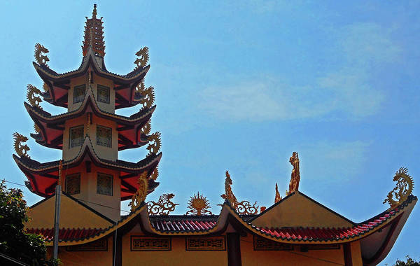 Vung Tau Photograph - Phu My Temples 18 by Ron Kandt