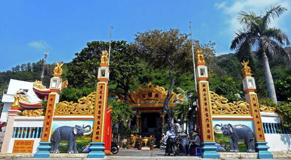 Vung Tau Photograph - Phu My Temples 3 by Ron Kandt