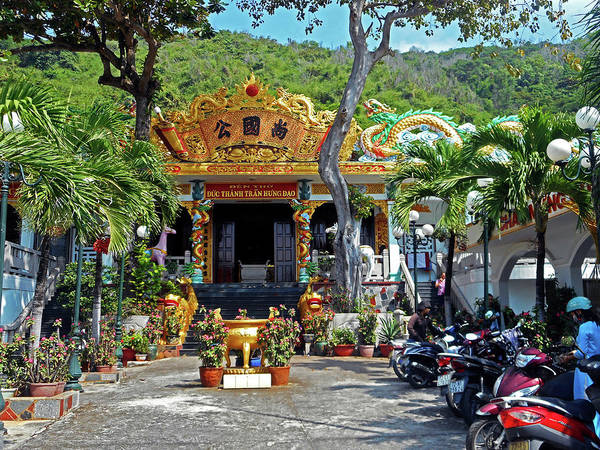 Vung Tau Photograph - Phu My Temples 4 by Ron Kandt