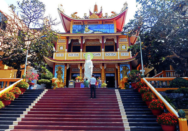 Vung Tau Photograph - Phu My Temples 5 by Ron Kandt