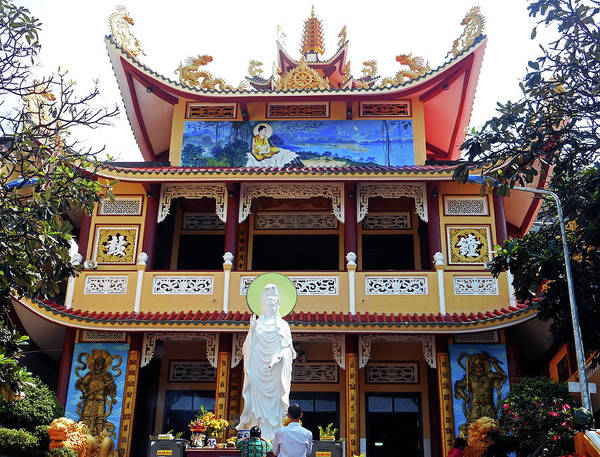 Vung Tau Photograph - Phu My Temples 6 by Ron Kandt