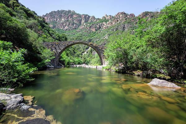 Calvi Photograph - Pianella Bridge - Corsica by Joana Kruse