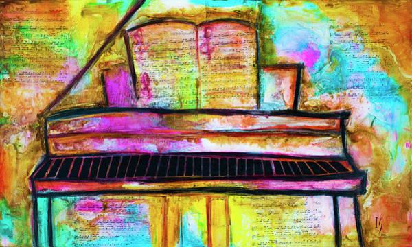 Wall Art - Painting - Pianissimo by Ivan Guaderrama