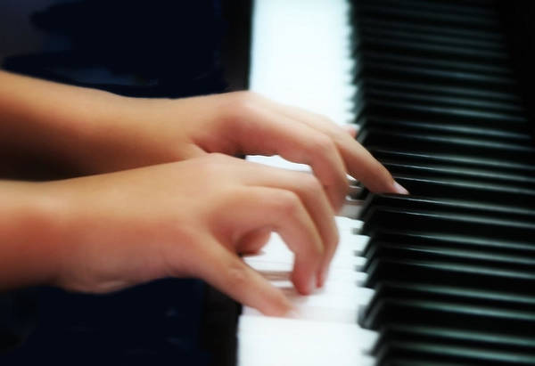 Player Piano Photograph - Piano Hands by Kevin Phipps