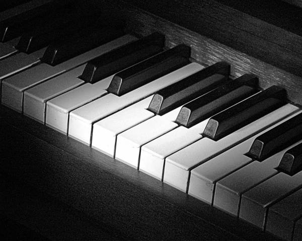 Photograph - Piano by Jim Mathis