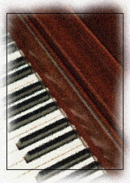 Photograph - Piano Keys by Carolyn Marshall
