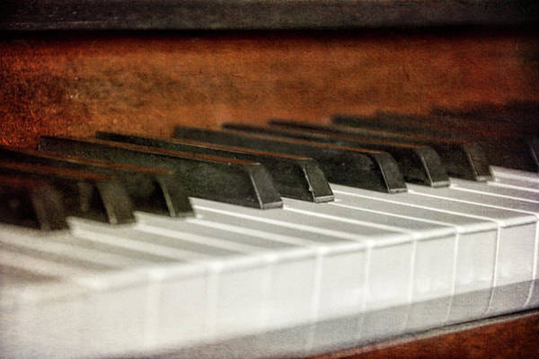 Photograph - Piano Keys by JAMART Photography