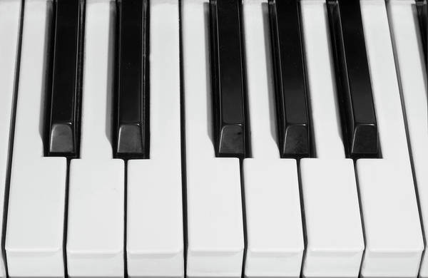 Photograph - Piano Octave  Bw by James BO Insogna