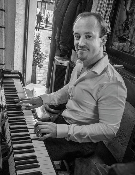 Photograph - Piano Player by Jessica Levant