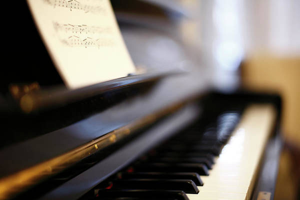 Skill Wall Art - Photograph - Piano With Blur by Photo by Giuseppe Amato