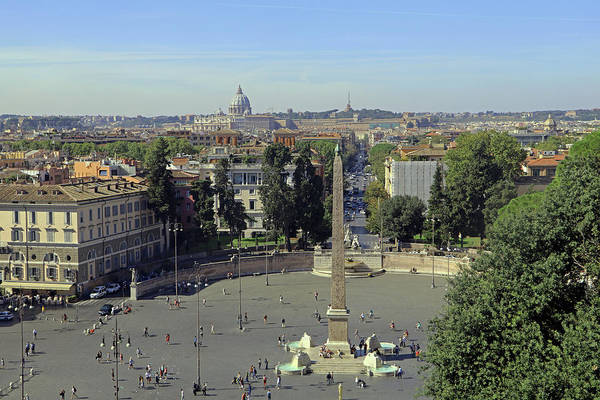 Photograph - Piazza Del Popolo by Tony Murtagh