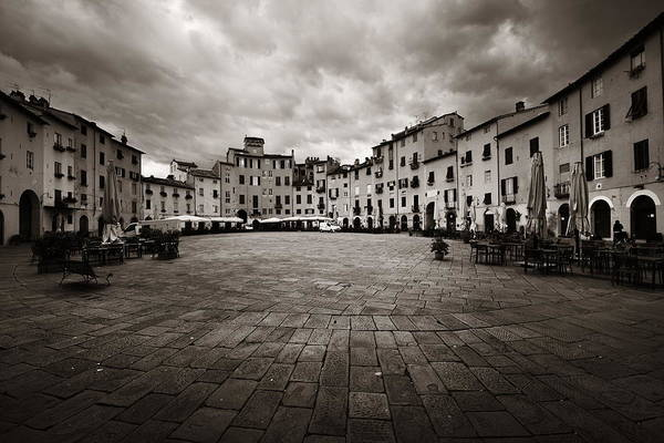 Photograph - Piazza Dell Anfiteatro by Songquan Deng