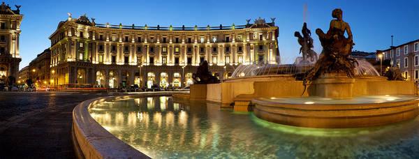 Photograph - Piazza Della Repubblica by Fabrizio Troiani