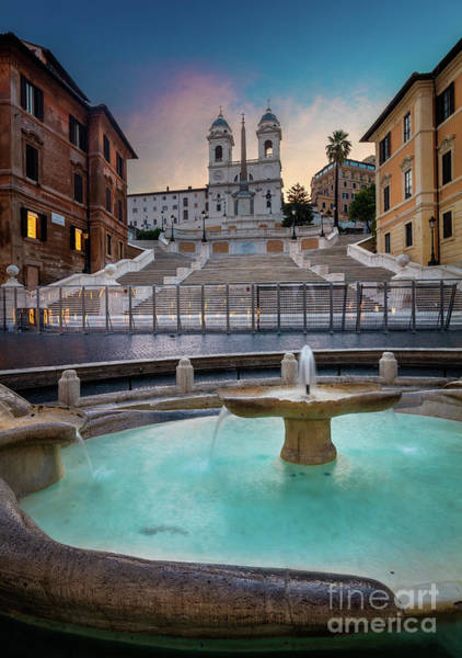 Photograph - Piazza Di Spagna by Inge Johnsson