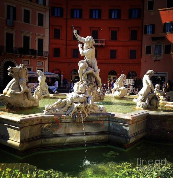 Photograph - Piazza Navona 6 by Angela Rath