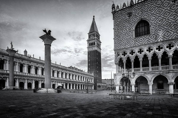 St Andrews Photograph - Piazza San Marco by Andrew Soundarajan