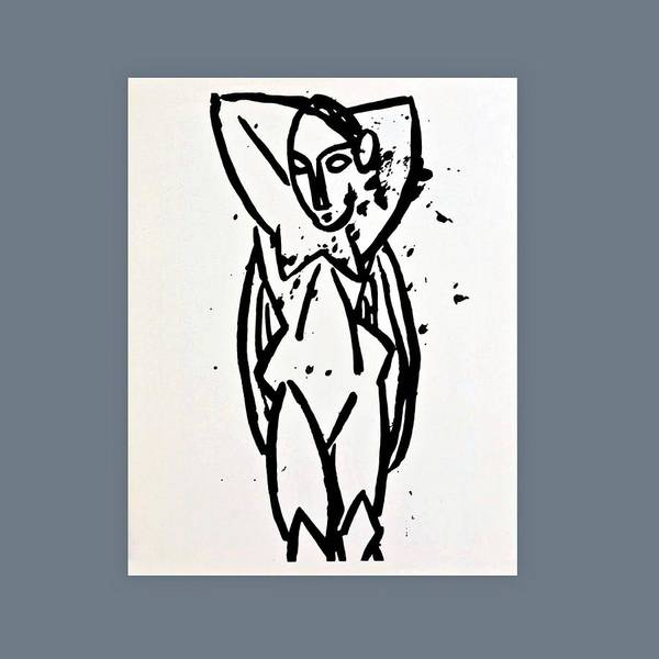 Dehner Painting - Picasso Nude With Arms by Movie Poster Prints