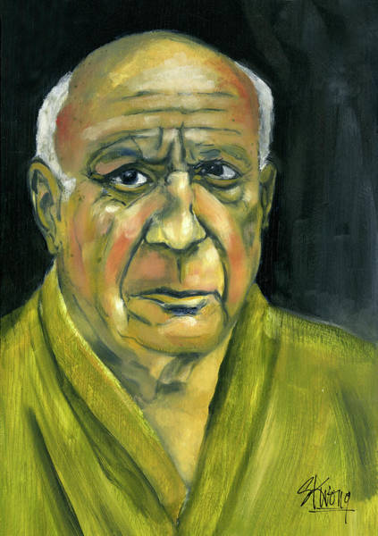 Painting - Picasso by Stan Kwong
