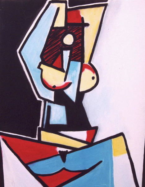 Wall Art - Painting - Picasso by Thomas Valentine
