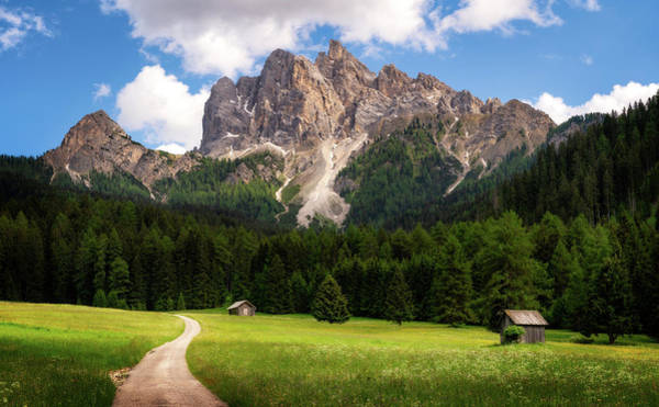 Photograph - Picco Di Vallandro - Dolomites, Italy by Nico Trinkhaus