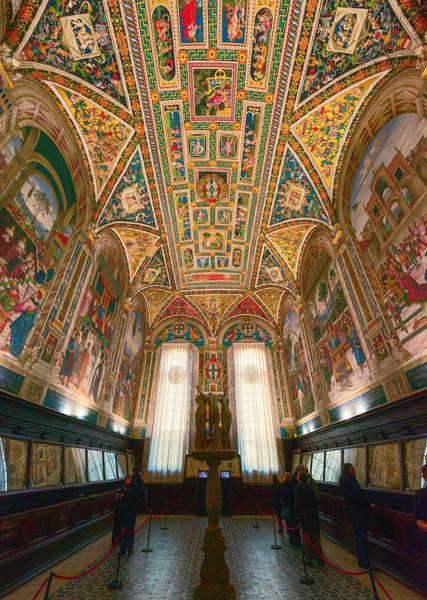 Photograph - Piccolomini Library Siena Italy by Joan Carroll