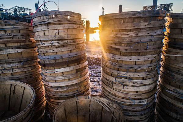 Jersey Shore Photograph - Pick A Basket by Kristopher Schoenleber