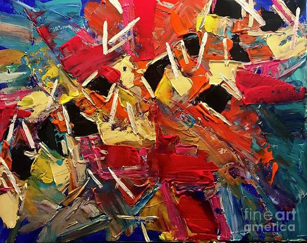 Painting - Pick Up Sticks by Sherry Harradence
