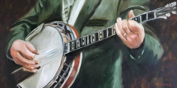 Painting - Pickin' by Jill Ciccone Pike