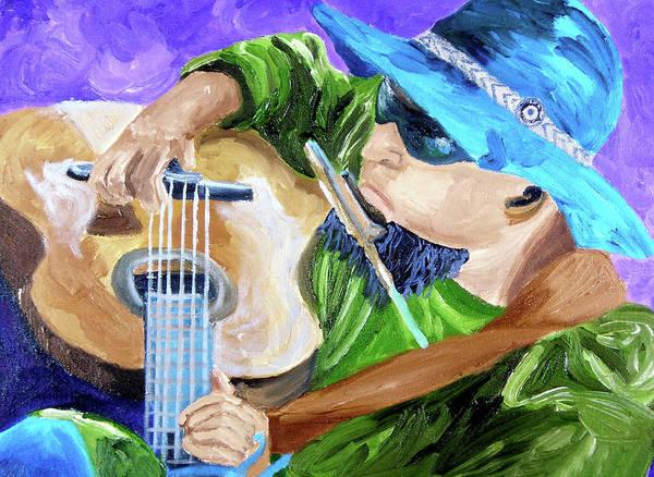 Sax Painting - Pickin N Harmony by Michael Lee