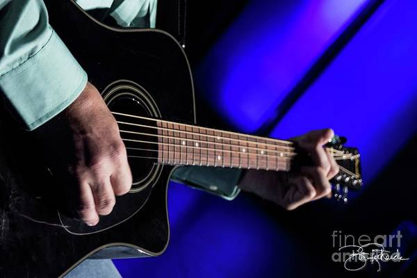 Photograph - Picking Guitar by Bill Richards