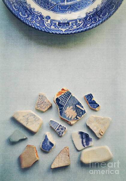 Randle Photograph - Picking Up The Broken Pieces by Lyn Randle