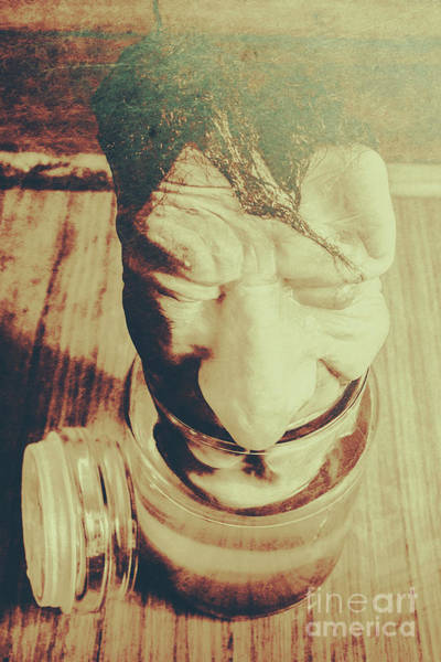 Human Head Photograph - Pickle Me Grandfather by Jorgo Photography - Wall Art Gallery