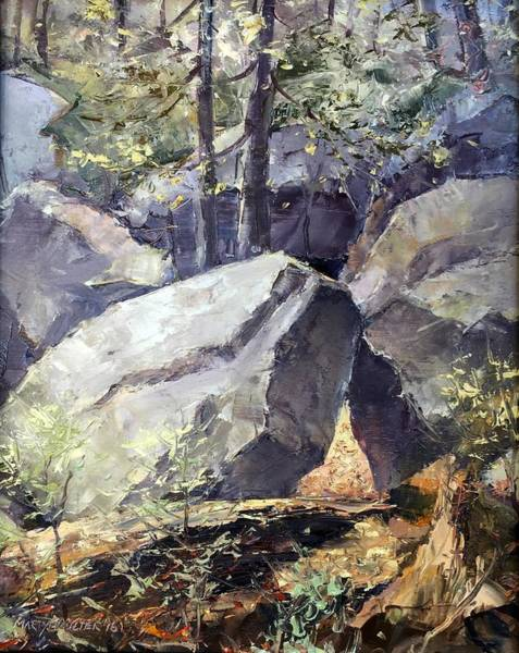 Painting - Pickle Springs State Park by Marty Coulter