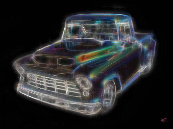 Digital Art - Pickup by Kenneth Armand Johnson