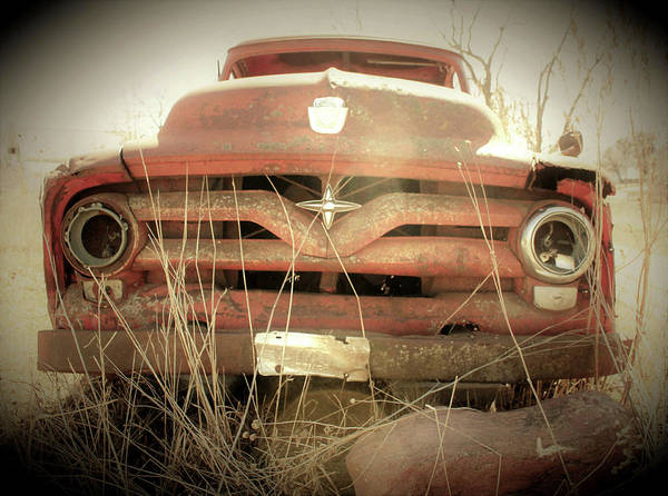 Wall Art - Photograph - Pickup With A Past by Toni Grote