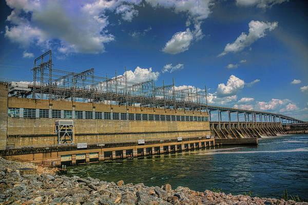 Photograph - Pickwick Landing Dam Pickwick, Tennessee by WildBird Photographs
